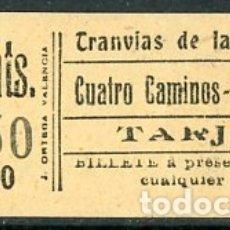 Coleccionismo Billetes de transporte: (GSC 2) BILLETE DE TRANVIA DE MADRID. Lote 166408658