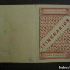 Coleccionismo Billetes de transporte: COMPAÑIA DEL TRANVIA DE VAPOR-DE ONDA AL GRAO DE CASTELLON DE LA PLANA-VER FOTOS-(V-17.359). Lote 167462364