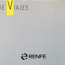 Coleccionismo Billetes de transporte: RENFE CLUB DE VIAJES TALONARIO CON TALONES (SIN USAR). Lote 167712184