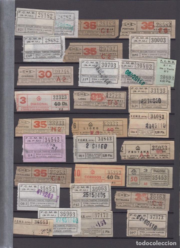 Coleccionismo Billetes de transporte: COLECCION 336 BILLETE CAPICUA NUMERO DIFERENTE MODALIDAD METRO BARCELONA ACTUALIZADO - LEER INTERIOR - Foto 4 - 167950476