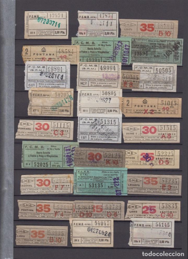 Coleccionismo Billetes de transporte: COLECCION 336 BILLETE CAPICUA NUMERO DIFERENTE MODALIDAD METRO BARCELONA ACTUALIZADO - LEER INTERIOR - Foto 7 - 167950476