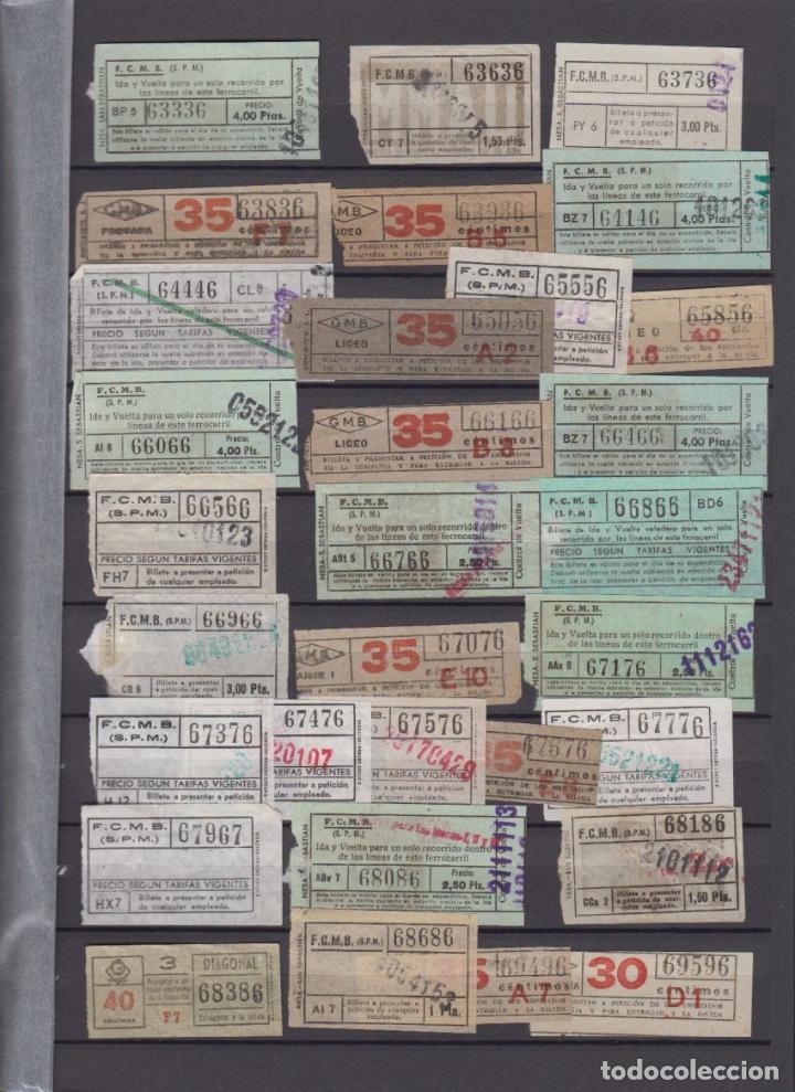 Coleccionismo Billetes de transporte: COLECCION 336 BILLETE CAPICUA NUMERO DIFERENTE MODALIDAD METRO BARCELONA ACTUALIZADO - LEER INTERIOR - Foto 8 - 167950476