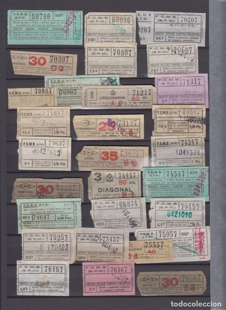 Coleccionismo Billetes de transporte: COLECCION 336 BILLETE CAPICUA NUMERO DIFERENTE MODALIDAD METRO BARCELONA ACTUALIZADO - LEER INTERIOR - Foto 9 - 167950476