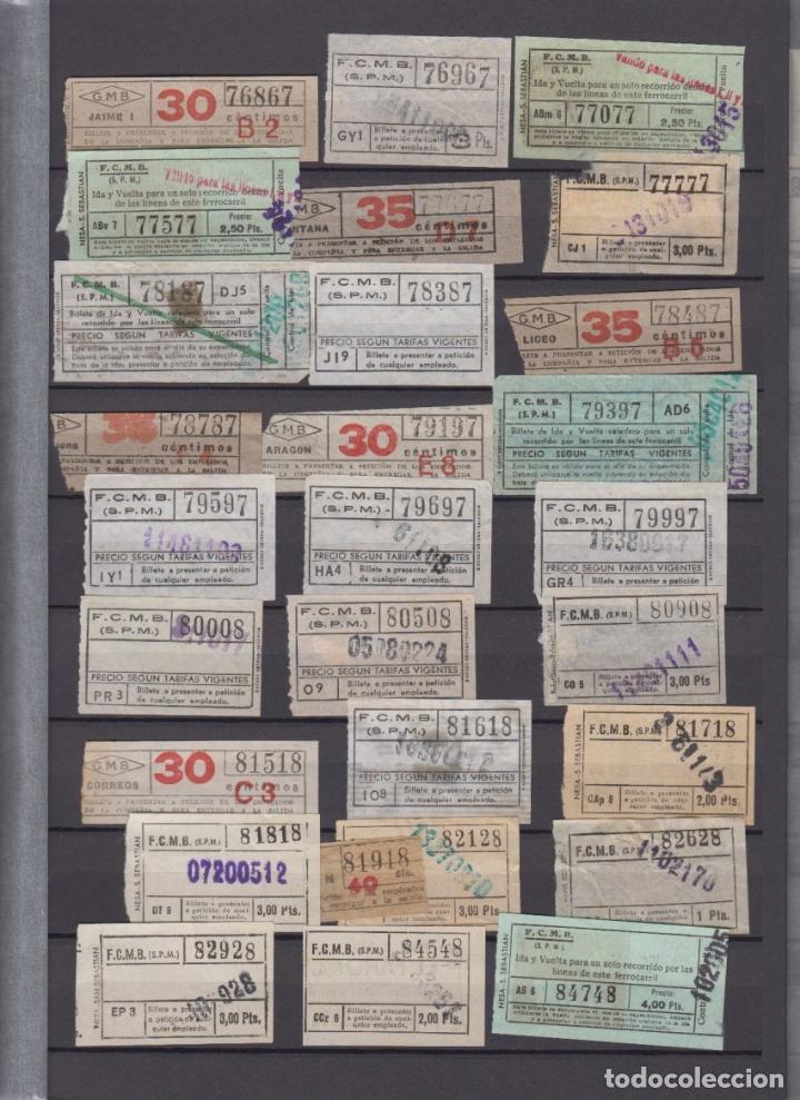 Coleccionismo Billetes de transporte: COLECCION 336 BILLETE CAPICUA NUMERO DIFERENTE MODALIDAD METRO BARCELONA ACTUALIZADO - LEER INTERIOR - Foto 10 - 167950476