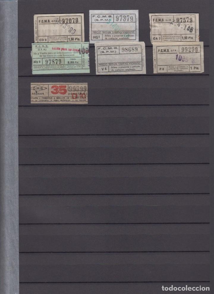 Coleccionismo Billetes de transporte: COLECCION 336 BILLETE CAPICUA NUMERO DIFERENTE MODALIDAD METRO BARCELONA ACTUALIZADO - LEER INTERIOR - Foto 12 - 167950476