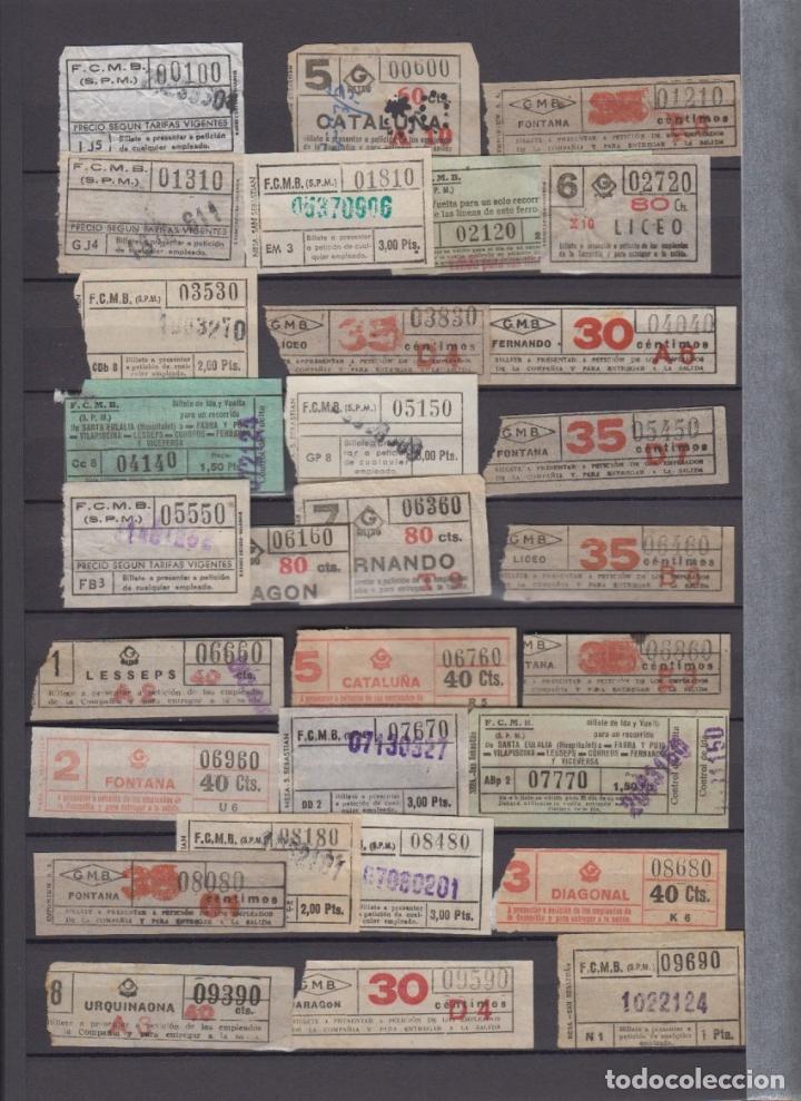 COLECCION 336 BILLETE CAPICUA NUMERO DIFERENTE MODALIDAD METRO BARCELONA ACTUALIZADO - LEER INTERIOR (Coleccionismo - Billetes de Transporte)