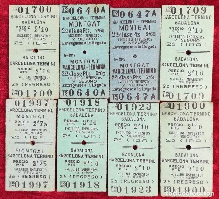 Coleccionismo Billetes de transporte: FERROCARRIL. LOTE DE 2538 BILLETES DE TRANSPORTE. RENFE. VARIOS AÑOS. ESPAÑA - Foto 9 - 168468232