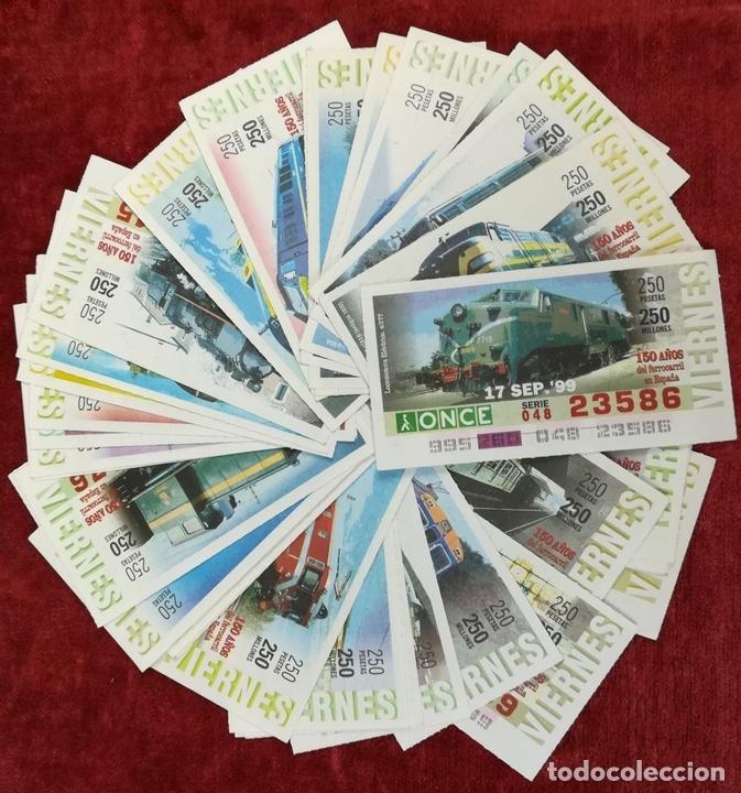 Coleccionismo Billetes de transporte: FERROCARRIL. LOTE DE 2538 BILLETES DE TRANSPORTE. RENFE. VARIOS AÑOS. ESPAÑA - Foto 11 - 168468232