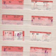 Coleccionismo Billetes de transporte: RENFE CERCANIAS MADRID - 20 BILLETES ESTACIONES DIFERENTES VER LAS FOTOS - IV CENTENARIO EL QUIJOTE. Lote 170943615