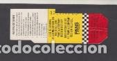 TARJETA RESISTIVA EMT MADRID 660 PESETAS PUBLICIDAD PANS & COMANY (Coleccionismo - Billetes de Transporte)