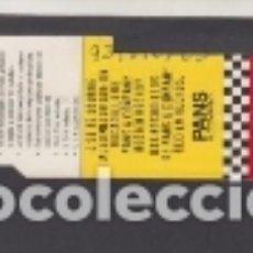 Coleccionismo Billetes de transporte: TARJETA RESISTIVA EMT MADRID 660 PESETAS PUBLICIDAD PANS & COMANY. Lote 170944100