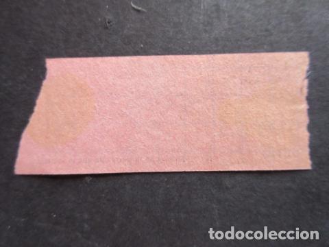Coleccionismo Billetes de transporte: BILLETE SOCIEDAD TRANVIAS ESTACION Y MERCADOS PUERTA DEL SOL ESTACION NORTE - Foto 2 - 171622867