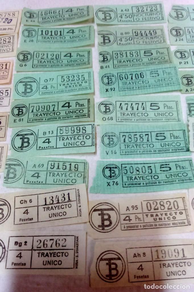Coleccionismo Billetes de transporte: LOTE 54 BILLETES CAPICUA TRANVIA DE BARCELONA. - Foto 3 - 172097374