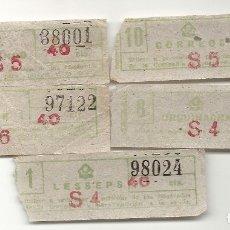 Coleccionismo Billetes de transporte: GRAN METRO BARCELONA.MODELO3. Lote 172717565