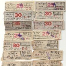 Coleccionismo Billetes de transporte: GRAN METRO BARCELONA.MODELO 5. Lote 172717885