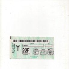 Coleccionismo Billetes de transporte: TARJETA DE EMBARQUE TÚNEZ AIR -AÑO 2000-. Lote 172764700