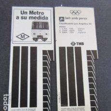 Coleccionismo Billetes de transporte: ARD-TRCOL1 - AÑO 1987 COLECCION 2 TARJETA RESISTIVA T-2 DIFERENTES VERDE 10 VIAJES SIN PRECIO. Lote 173845329