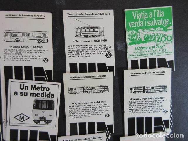 Coleccionismo Billetes de transporte: ARD-TRCOL1 - AÑO 1987/88 COLECCION 26 TARJETA RESISTIVA T-2 DIFERENTES LILA 10 VIAJES SIN PRECIO - Foto 3 - 173845629
