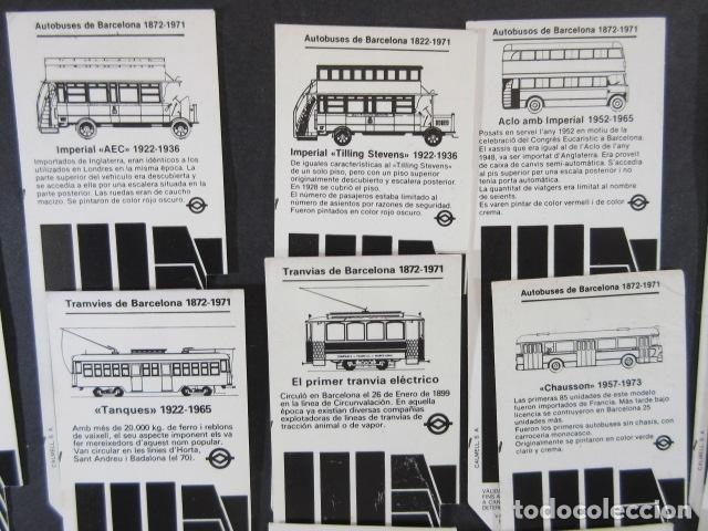 Coleccionismo Billetes de transporte: ARD-TRCOL1 - AÑO 1987/88 COLECCION 26 TARJETA RESISTIVA T-2 DIFERENTES LILA 10 VIAJES SIN PRECIO - Foto 4 - 173845629