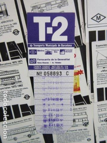 Coleccionismo Billetes de transporte: ARD-TRCOL1 - AÑO 1987/88 COLECCION 26 TARJETA RESISTIVA T-2 DIFERENTES LILA 10 VIAJES SIN PRECIO - Foto 5 - 173845629