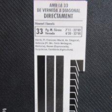 Coleccionismo Billetes de transporte: ARD-TRCOL1 - AÑO 1993 COLECCION 1 TARJETA RESISTIVA DIFERENTES T-1 LILA 10 VIAJES 510 PESETAS. Lote 173958435