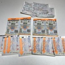 Coleccionismo Billetes de transporte: BILLETES TRANSPORTE. Lote 175428545
