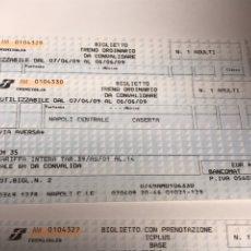 Coleccionismo Billetes de transporte: BILLETES TRANSPORTE.. Lote 176128678