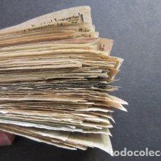Coleccionismo Billetes de transporte: LOTE BILLETE CAPICUA MADRID TRANVIAS AUTOBUSES TROLEBUSES EMT NO LOS HE CONTADO. Lote 177705513