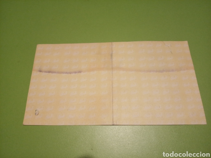 Coleccionismo Billetes de transporte: Billete RENFE - Foto 2 - 177751320