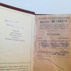 Coleccionismo Billetes de transporte: BILLETE KILOMÉTRICO 3ª CLASE DEL AÑO 1966.. Lote 178241150