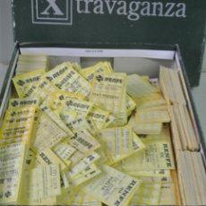 Coleccionismo Billetes de transporte: CAJA LLENA CON CENTENARES DE BILLETES DE TRANSPORTE. RENFE. Lote 178625402