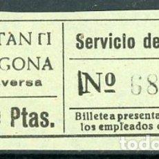 Coleccionismo Billetes de transporte: BILLETE DE SERVICIO DE OMNIBUS // CONSTANTI - TARRAGONA // Z60. Lote 178936028