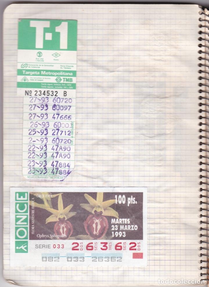 Coleccionismo Billetes de transporte: CAPICUAS - LIBRETA CON 186 BILLETES CAPICUAS DIFERENTES TRANSPORTES Y MÁS - FOTOS TODAS HOJAS - Foto 3 - 179380110