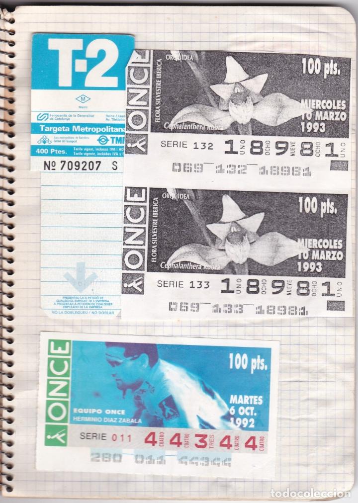 Coleccionismo Billetes de transporte: CAPICUAS - LIBRETA CON 186 BILLETES CAPICUAS DIFERENTES TRANSPORTES Y MÁS - FOTOS TODAS HOJAS - Foto 4 - 179380110