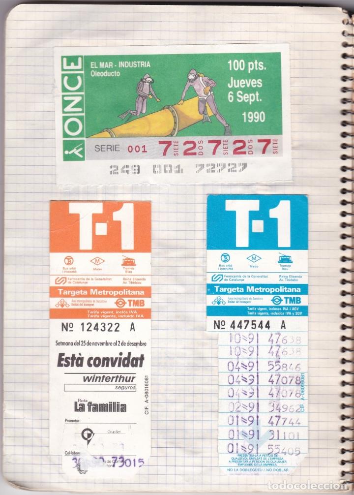 Coleccionismo Billetes de transporte: CAPICUAS - LIBRETA CON 186 BILLETES CAPICUAS DIFERENTES TRANSPORTES Y MÁS - FOTOS TODAS HOJAS - Foto 5 - 179380110
