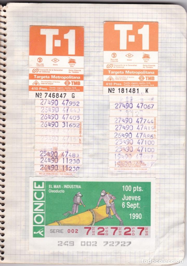 Coleccionismo Billetes de transporte: CAPICUAS - LIBRETA CON 186 BILLETES CAPICUAS DIFERENTES TRANSPORTES Y MÁS - FOTOS TODAS HOJAS - Foto 6 - 179380110
