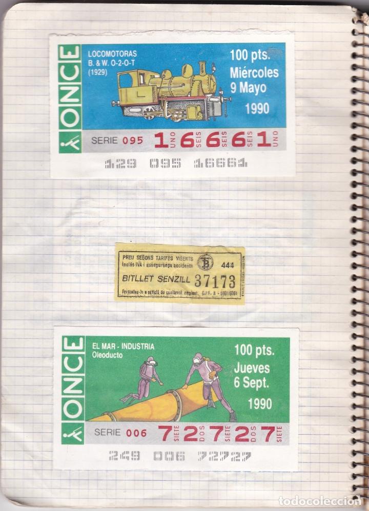Coleccionismo Billetes de transporte: CAPICUAS - LIBRETA CON 186 BILLETES CAPICUAS DIFERENTES TRANSPORTES Y MÁS - FOTOS TODAS HOJAS - Foto 7 - 179380110