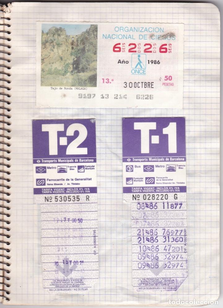 Coleccionismo Billetes de transporte: CAPICUAS - LIBRETA CON 186 BILLETES CAPICUAS DIFERENTES TRANSPORTES Y MÁS - FOTOS TODAS HOJAS - Foto 10 - 179380110