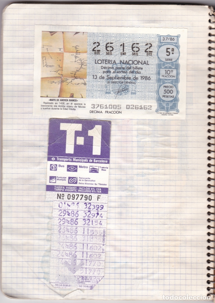 Coleccionismo Billetes de transporte: CAPICUAS - LIBRETA CON 186 BILLETES CAPICUAS DIFERENTES TRANSPORTES Y MÁS - FOTOS TODAS HOJAS - Foto 11 - 179380110