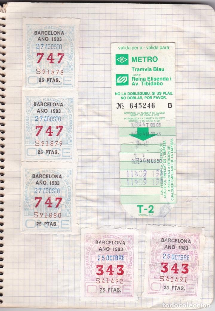 Coleccionismo Billetes de transporte: CAPICUAS - LIBRETA CON 186 BILLETES CAPICUAS DIFERENTES TRANSPORTES Y MÁS - FOTOS TODAS HOJAS - Foto 14 - 179380110