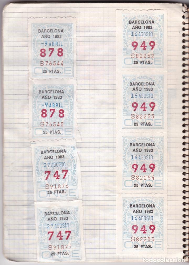 Coleccionismo Billetes de transporte: CAPICUAS - LIBRETA CON 186 BILLETES CAPICUAS DIFERENTES TRANSPORTES Y MÁS - FOTOS TODAS HOJAS - Foto 15 - 179380110