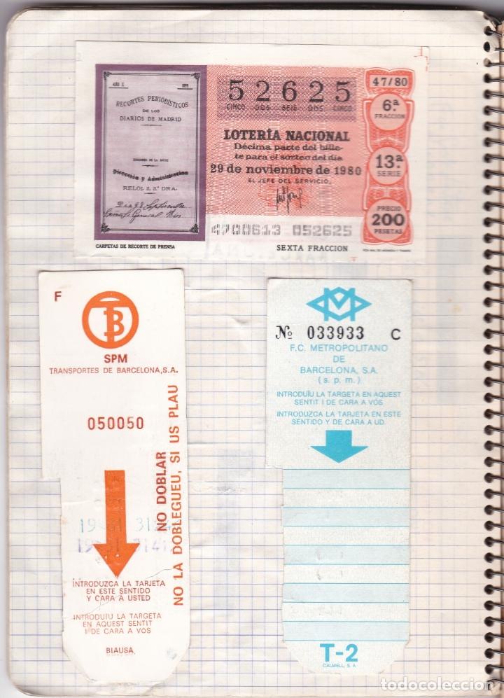 Coleccionismo Billetes de transporte: CAPICUAS - LIBRETA CON 186 BILLETES CAPICUAS DIFERENTES TRANSPORTES Y MÁS - FOTOS TODAS HOJAS - Foto 17 - 179380110