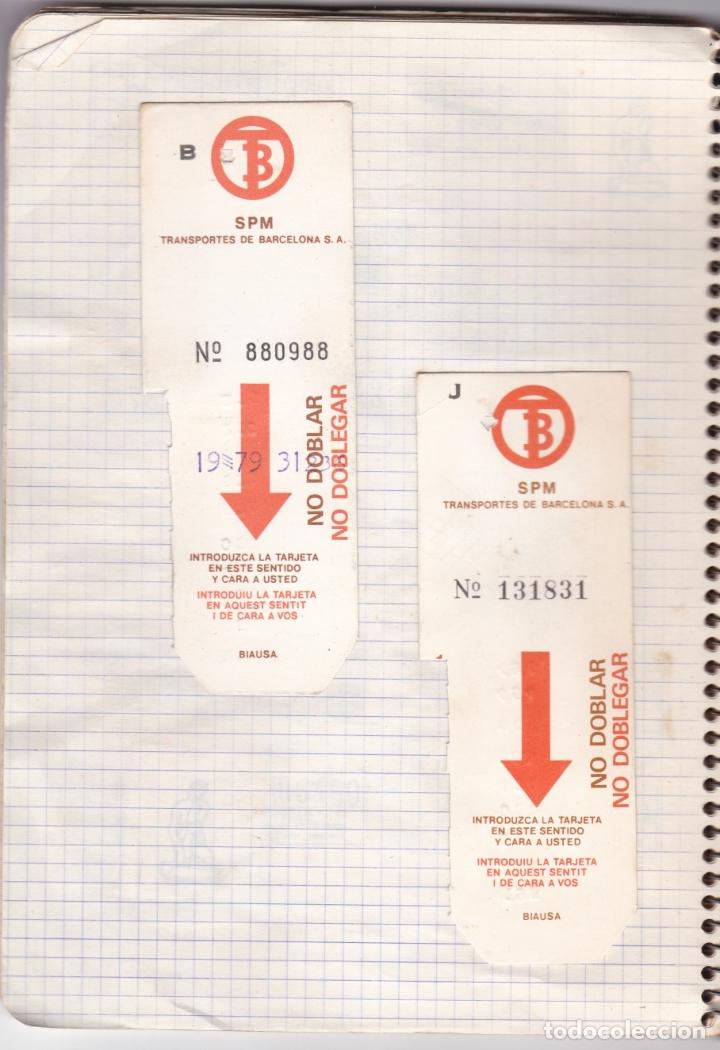 Coleccionismo Billetes de transporte: CAPICUAS - LIBRETA CON 186 BILLETES CAPICUAS DIFERENTES TRANSPORTES Y MÁS - FOTOS TODAS HOJAS - Foto 19 - 179380110