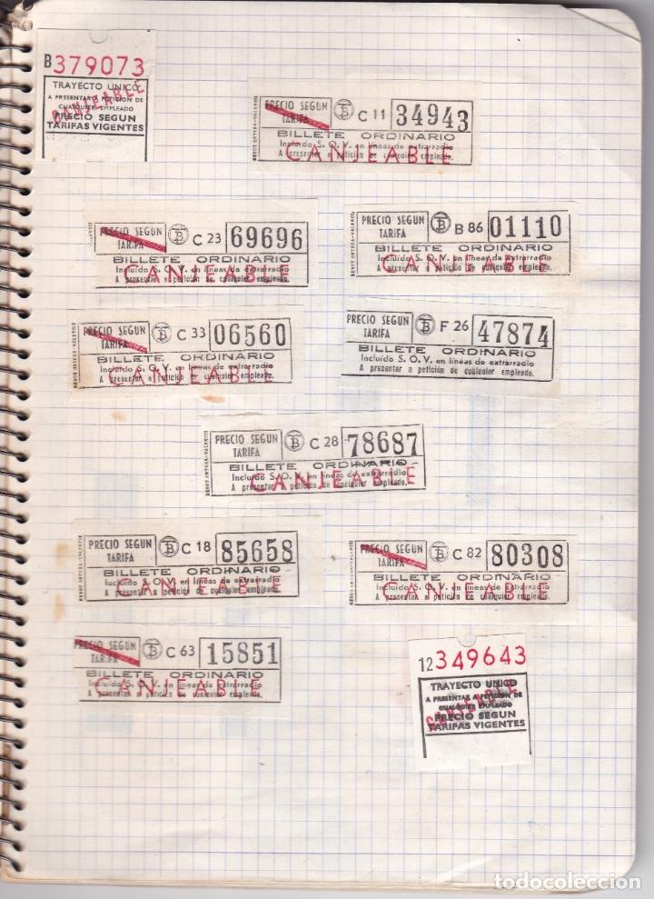 Coleccionismo Billetes de transporte: CAPICUAS - LIBRETA CON 186 BILLETES CAPICUAS DIFERENTES TRANSPORTES Y MÁS - FOTOS TODAS HOJAS - Foto 20 - 179380110