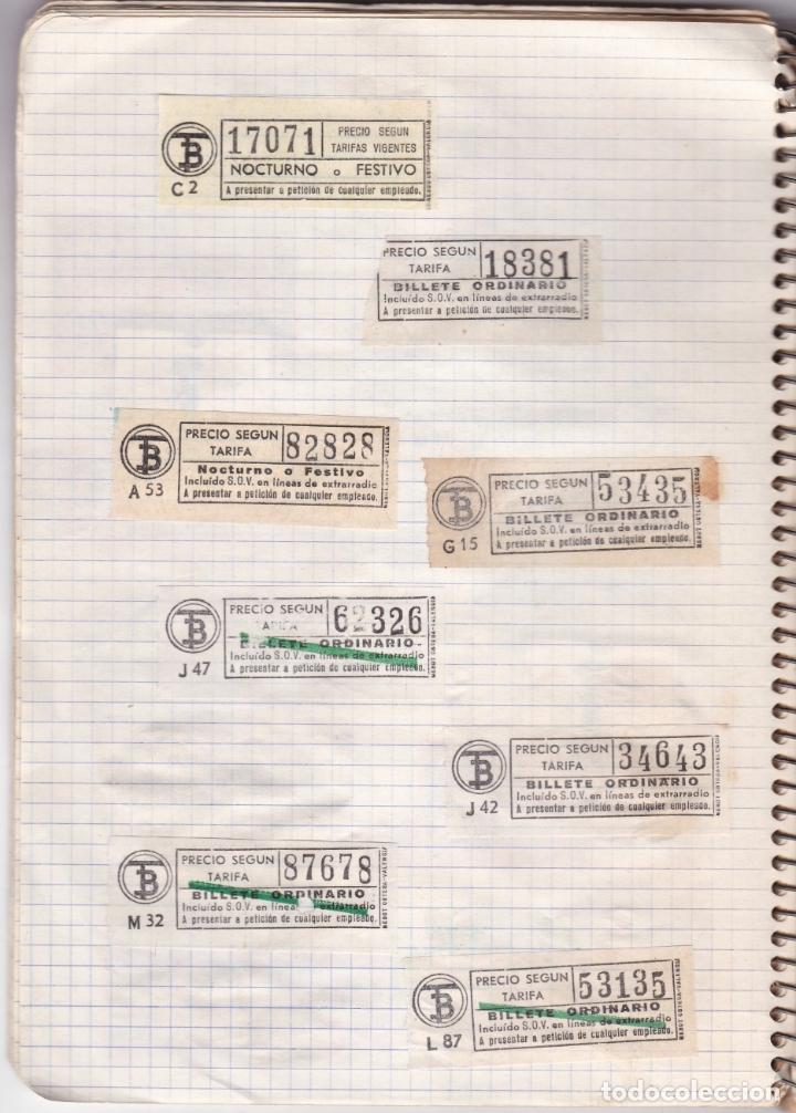 Coleccionismo Billetes de transporte: CAPICUAS - LIBRETA CON 186 BILLETES CAPICUAS DIFERENTES TRANSPORTES Y MÁS - FOTOS TODAS HOJAS - Foto 23 - 179380110