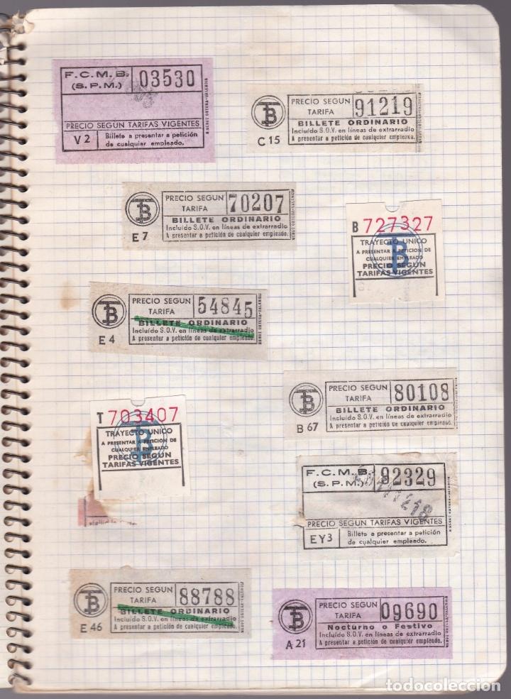 Coleccionismo Billetes de transporte: CAPICUAS - LIBRETA CON 186 BILLETES CAPICUAS DIFERENTES TRANSPORTES Y MÁS - FOTOS TODAS HOJAS - Foto 24 - 179380110