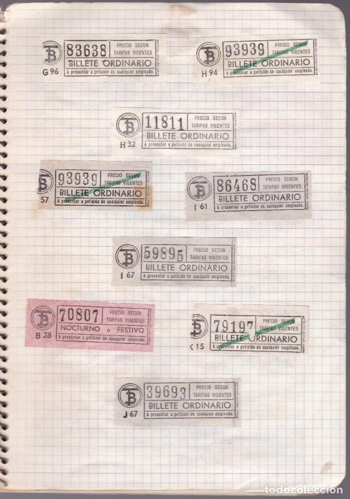 Coleccionismo Billetes de transporte: CAPICUAS - LIBRETA CON 186 BILLETES CAPICUAS DIFERENTES TRANSPORTES Y MÁS - FOTOS TODAS HOJAS - Foto 26 - 179380110