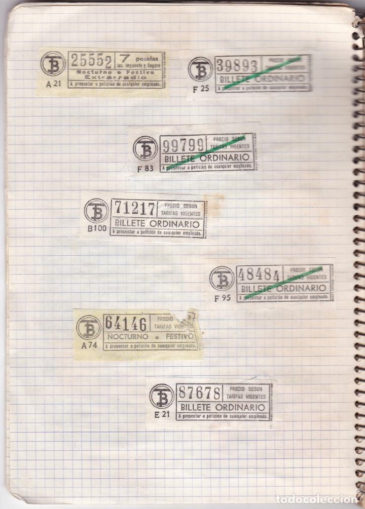 Coleccionismo Billetes de transporte: CAPICUAS - LIBRETA CON 186 BILLETES CAPICUAS DIFERENTES TRANSPORTES Y MÁS - FOTOS TODAS HOJAS - Foto 27 - 179380110