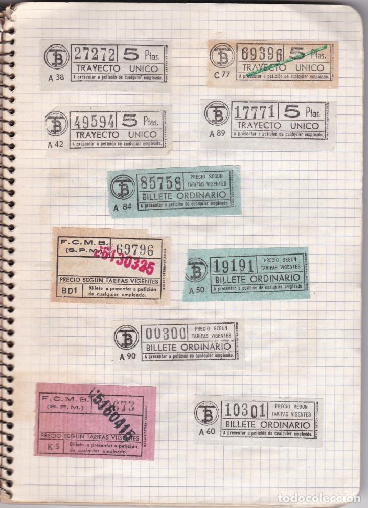 Coleccionismo Billetes de transporte: CAPICUAS - LIBRETA CON 186 BILLETES CAPICUAS DIFERENTES TRANSPORTES Y MÁS - FOTOS TODAS HOJAS - Foto 28 - 179380110