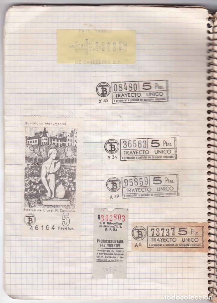 Coleccionismo Billetes de transporte: CAPICUAS - LIBRETA CON 186 BILLETES CAPICUAS DIFERENTES TRANSPORTES Y MÁS - FOTOS TODAS HOJAS - Foto 29 - 179380110